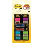 "Post-it® Flags, 1"" with Bonus 1/2"" Arrow Flags, Assorted Colours, 248-Pack"