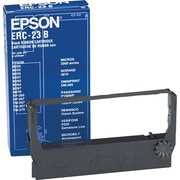 Epson ERC-23B Black Nylon Cash Register Ribbon