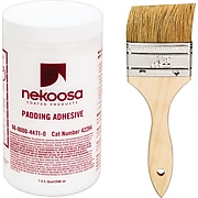 Nekoosa Coated Products Fan-Out Padding Adhesive, 32 oz.