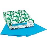 Wausau AstroBright Color Laser/Inkjet Paper, Celestial Blue, 24lb, Letter, 500 Sheets