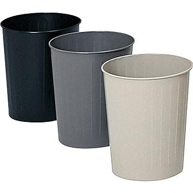 Safco® Fireproof Round Wastebasket