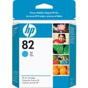 HP 82 Cyan Ink Cartridge (CH566A), 28ml