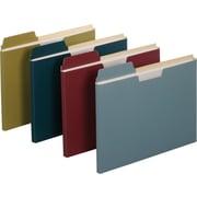 Staples® File Folder Jackets, Letter, Assorted, 150 Sheet Capacity, 10/Pack