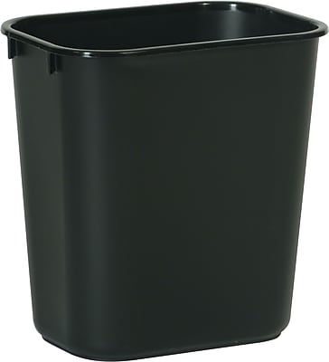 Brighton Professional™ Wastebasket 3.2 gal Plastic, Black, (22175/19208)