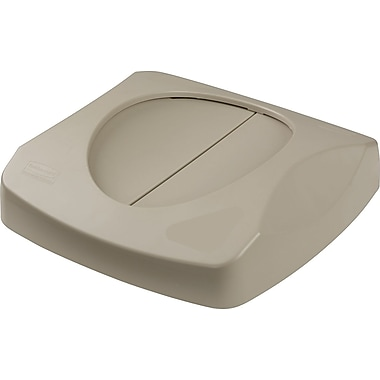 Rubbermaid® Untouchable® Free-Swinging Lid for 23-Gallon Waste Receptacle, Beige