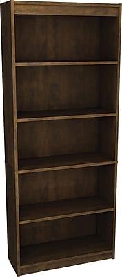 Bestar Executive Collection Bookcase, Chocolate