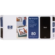 HP 80 Black Printhead and Cleaner (C4820A)