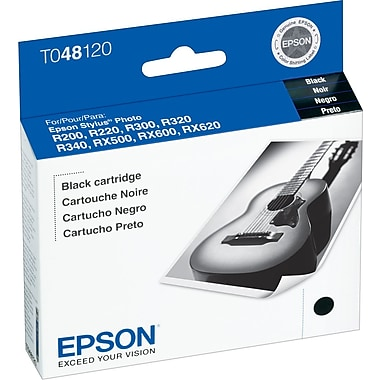 Epson 48, Black Ink Cartridge (T048120)