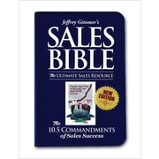 Jeffrey Gitomer's Sales Bible