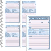 Adams® Phone Message Books, 200 Sets/Book