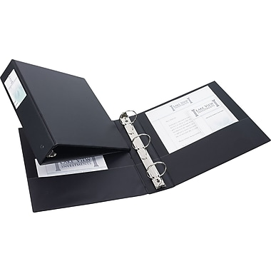Avery 2-Inch Round 3-Ring Non-View Binder, Black (4501)