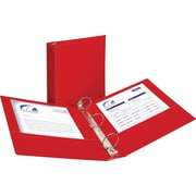 "2"" Avery® Economy Binder with Round Rings, Red"