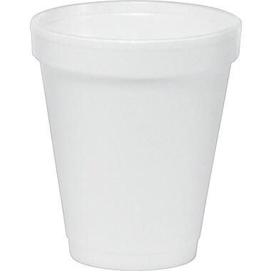 Dart® Insulated Foam Hot/Cold Cups, 6 oz., 1,000/Case