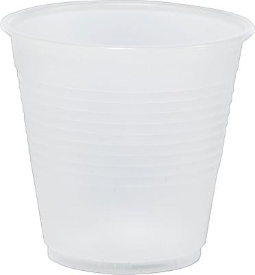 Translucent Plastic Cold Cups, 5 oz., 100/Pack