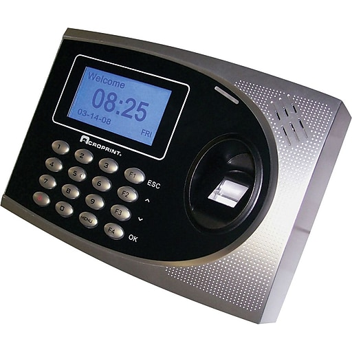 Acroprint ACP010250000 Time Q-Plus Biometric Attendance System