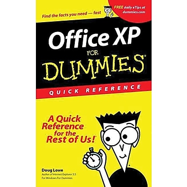 Office Xp for Dummies Quick Reference