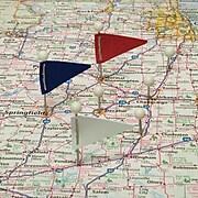 GEM Map Flags, 75/Box (GEM-MF375)