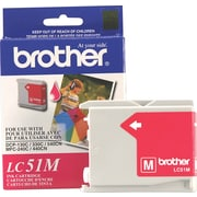 Brother LC51 Magenta Ink Cartridge (LC51MS)