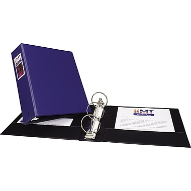 Avery Economy 1.5-Inch Round 3-Ring Non-View Binder, Blue (3400)