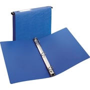 "Avery Hanging Storage Binder with 1"" Gap Free Ring, Blue (14800)"