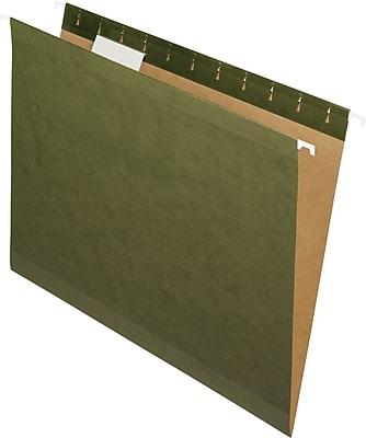 Pendaflex® 100% Recycled Standard Green Hanging File Folders