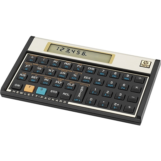 HP 12c Programmable Financial Calculator | Staples