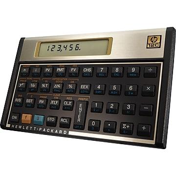 HP 12C 10 Digit Financial Calculator,Size: large