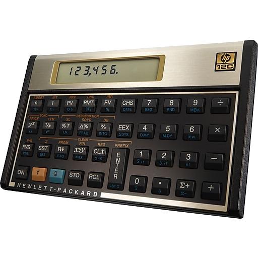 HP 12C 10 Digit Financial Calculator