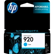 HP 920 Cyan Ink Cartridge (CH634AN)