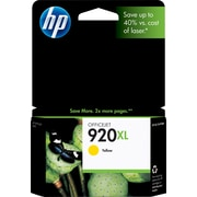 HP 920XL Yellow Ink Cartridge (CD974AN), High Yield