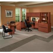 HON® 10700 Series Storage Cabinet with Adjustable Shelf, Mahogany