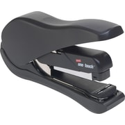Staples® One-Touch™ DX-3 Desktop Flat Stack Full Strip Stapler, 20 Sheet Capacity, Black