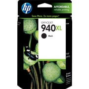 HP 940XL Black Ink Cartridge (C4906AN), High Yield