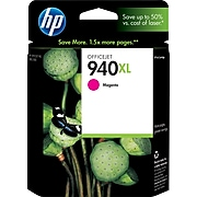 HP 940XL Magenta High Yield Ink Cartridge (C4908AN#140)
