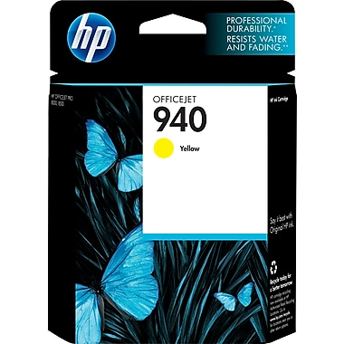 HP 940 Yellow Original Ink Cartridge (C4905AN)