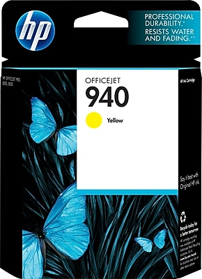 HP 940 Yellow Ink Cartridge (C4905AN)