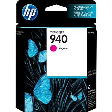 HP 940 Cartouche d'encre OfficeJet magenta d'origine (C4904AN)