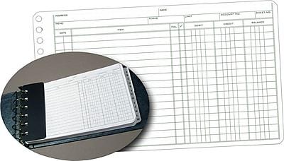 Staples® Ledger Refill Sheets, 5