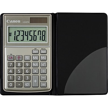 Canon® - Calculatrice de poche LS-63TG Green