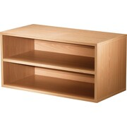 "Foremost® Hold'ems Modular Cube Storage System, Honey Oak 15""H x 30""W x 15""D Shelf Double Cube"