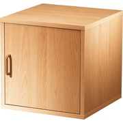 "Foremost® Hold'ems Modular Cube Storage System, Honey Oak 15""H x 15""W x 15""D Door Cube"