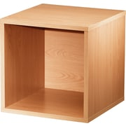 "Foremost® Hold'ems Modular Cube Storage System, Honey Oak 15""H x 15""W x 15""D Open Cube"