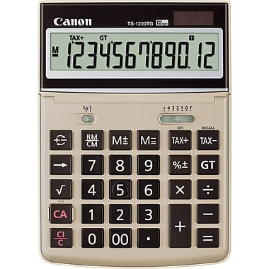 Canon® TS-1200TG Eco-friendly Desktop Calculator