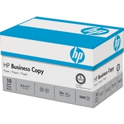 "HP® Business Copy Paper, LETTER-Size, 92/104+ US/Euro Brightness, 20 Lb., 8 1/2""H x 11""W, 5,000 Sheets/Ct"