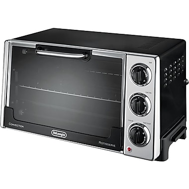 DeLonghi Rotisserie Convection Toaster Over, Black