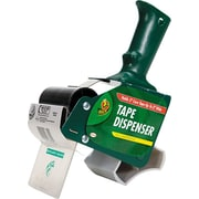 "Extra-Wide Packing Tape Dispenser, 3"" Core, Green, Each"