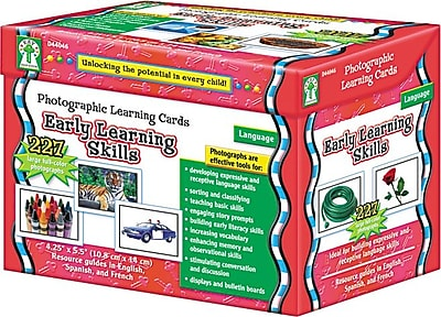 Carson-Dellosa Publishing Photographic Learning Cards for Grades K-12 (D44046)