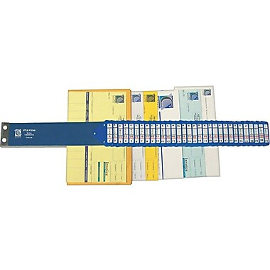C-Line Heavy Duty Index Sorter, 31 Dividers, Blue, 25 3/8