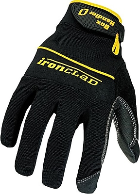 Ironclad® Box Handler Gloves, X-Large, Black