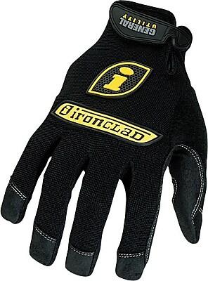 Ironclad® General Utility Spandex Gloves, Black, Medium, Pair